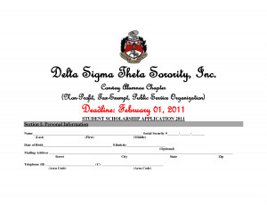 Delta Sigma Theta Sorority Inc