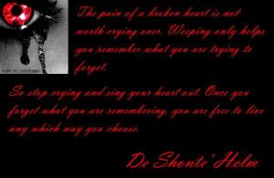 The Pain Of Broken Heart
