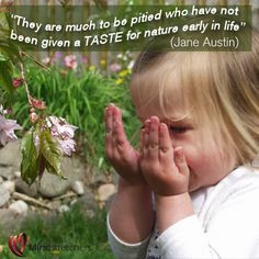 Youngest Children, Nature Ears, Nature Early, Jane Austin, Nature ...