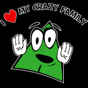 Love My Crazy Family T-Shirt