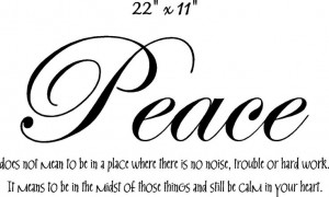 peace | Rest In Peace Quotes tattoo