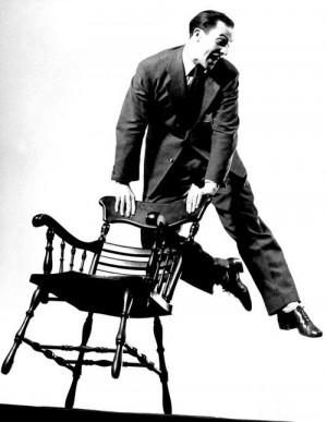 Gene Kelly photographed by Gjon Mili, 1944