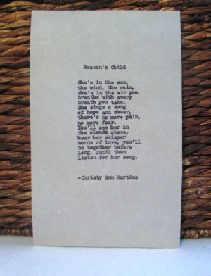 Poem Child Loss of Child Baby Girl Death Grief Bereavement Poem ...