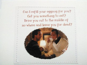 Funny quote Christmas Vacation card. Clark Griswold and Cousin Eddie ...