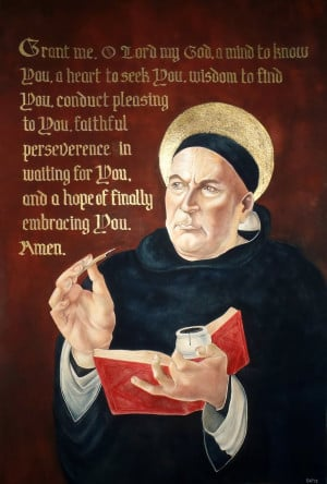 St. Thomas Aquinas by GuardtheDoors