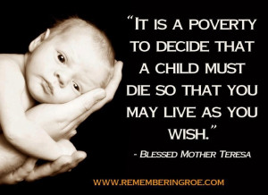 ... Mother Teresa | Abolish Human Abortion | http://abolishhumanabortion