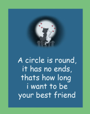 Circle Friends Printable Quotes