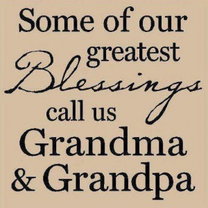 sayings about grandparents world