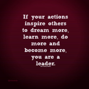 Leader Guides And Influences People To Become The BEST They Can Be