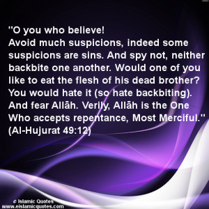 islamic quote ayat on backbiting