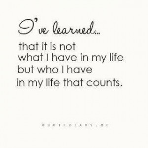 have learned