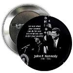 John F. Kennedy (JFK): Famous Inspiring Quote 'What You Can Do For ...
