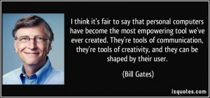 More Bill Gates Quotes