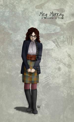 Meg - A Wrinkle in Time by megathy