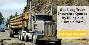 Getting the best deal on log truck insurance can be tough. We can help ...