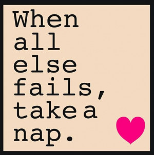 Napping quote
