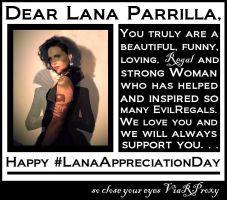 Lana Parrilla - Happy #LanaAppreciationDay in Devious Folder 2
