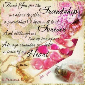 Thank You Friends Quotes Thank you quote