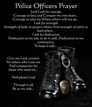 Police Officer's Prayer