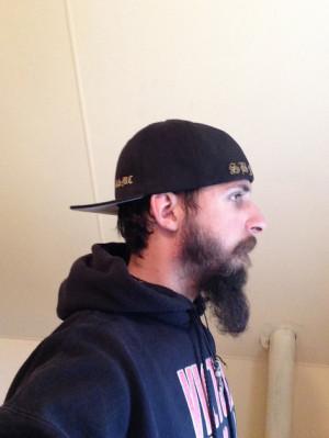 Twiggy's beard journey 8 months