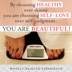 Being healthy for weight loss means preparing the mind, body, AND soul ...