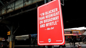 """RAP QUOTES"""" Signs on Original Locations in New York by Jay Shells ..."""