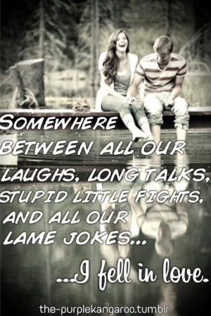 all our lame jokes... I fell in love: Distance Relationship Quotes ...