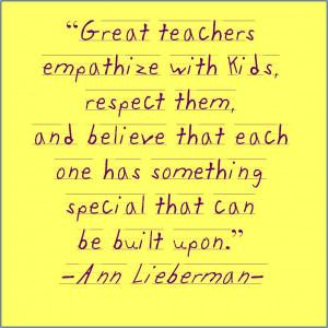 Inspiration For Teachers...