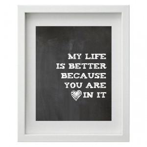 Printable love quote/ Wall art printable// by untoquedeangel, €3.00