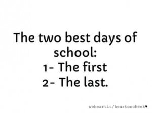 best quotes about school days