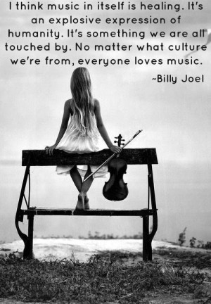 Music quote from Billy Joel #livemusic