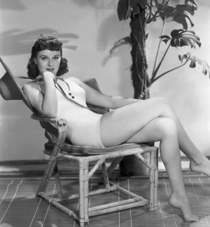 Paulette Goddard a major film star of the 1930s and 40s