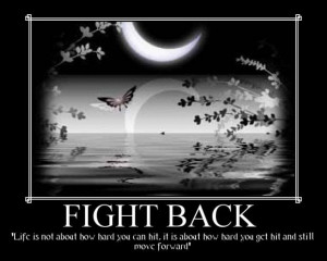 motivational quote on fight for life motivational quotes inspirational ...