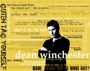 Dean Winchester Quotes...