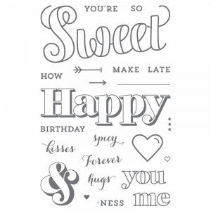 Simple Mailable Monday Birthday Card