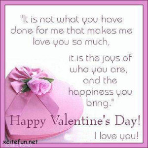 ... Quotes For Him ~ Best Valentine Quotes 1 valentines day quotes for him