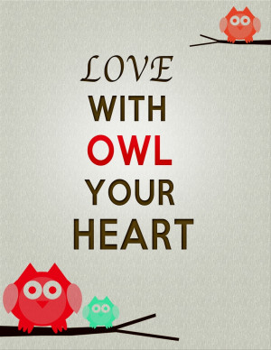 Owl Sayings