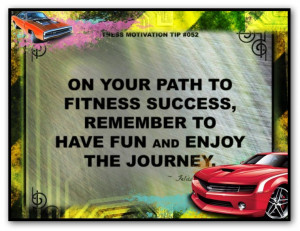 fitness success quote 052 on your path to fitness success remember to ...