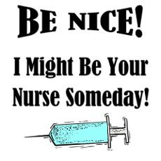 Funny Nurse Saying Wall Art Poster