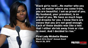 Really? Michelle Obama Called Racist for Attending 'Black Girls Rock ...