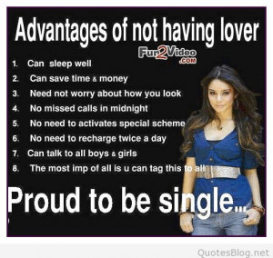 Quotes about being single love quotes