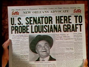... Bob Hope ) distracts the senator from his mission with a lovely woman