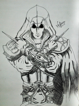 Ezio Auditore Herdi Fan Art
