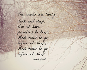 Robert Frost Quotes About Winter
