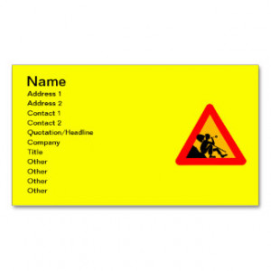 Quotes And Sayings Business Cards