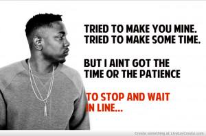 Kendrick Lamar Inspirational Quotes