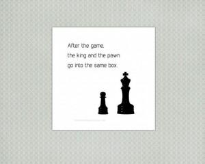 inspirational life quotes inspirational quotes life chess art print ...