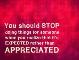 Appreciation quote