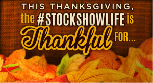 ... in articles in the ring tagged stockshowlife thankful thanksgiving