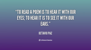 octavio paz quotes and sayings